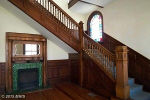 Front Royal Wood Staircase